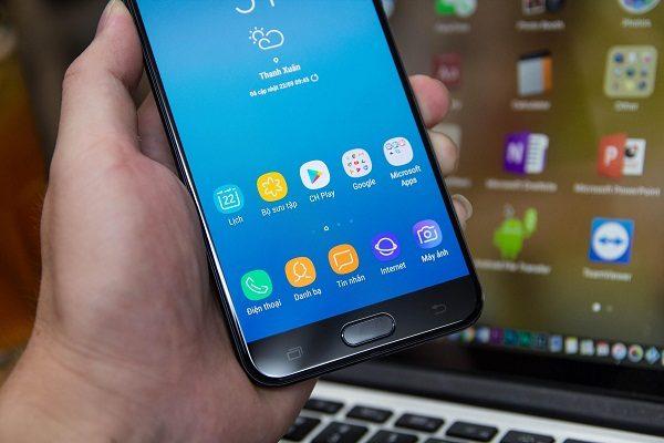 sửa chữa Samsung Galaxy J7 Plus bị hư wifi