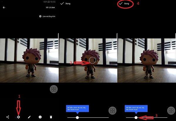 Chụp ảnh xóa phông trên điện thoại Android bằng Google Camera