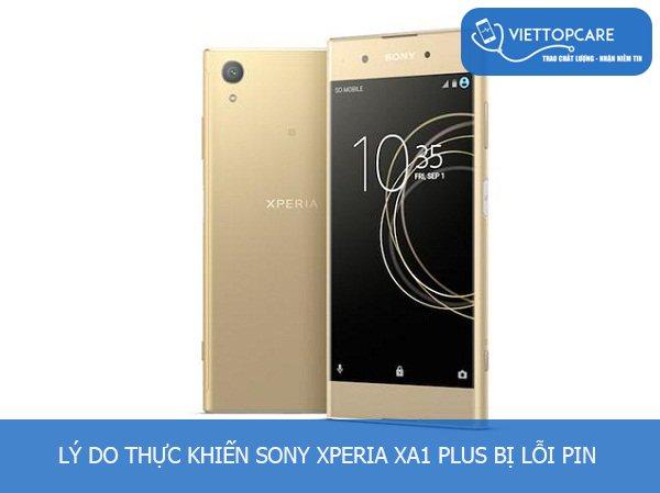 Thay pin Sony Xperia XA1 Plus