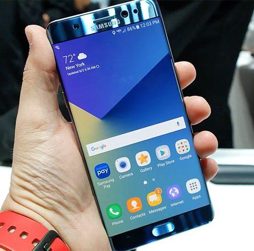 Khắc phục Samsung Galaxy Note FE sọc màn hình