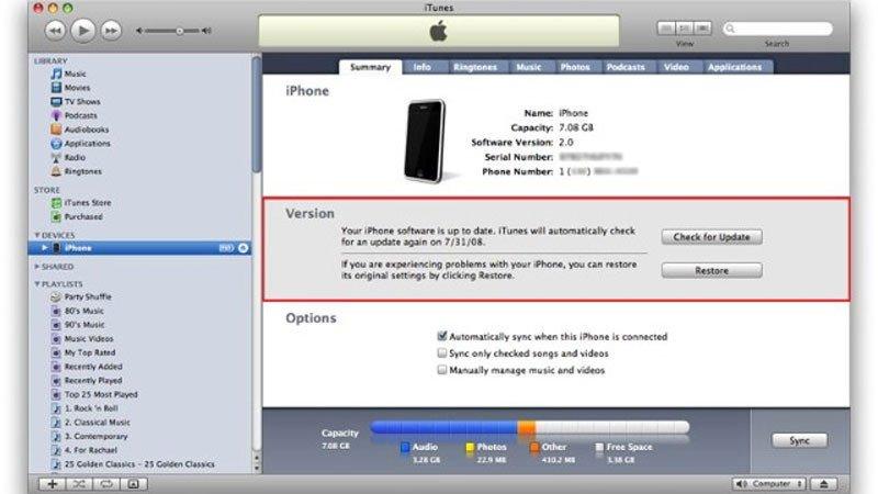 Lỗi iPhone 7 lắp sim không có sóng, máy báo đang tìm kiếm
