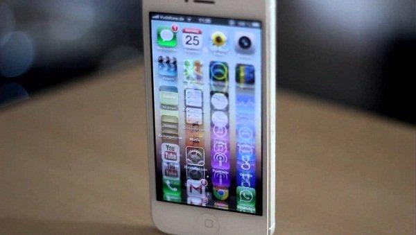 Màn hình iPhone 5 bị giật, cách khắc phục khẩn cấp