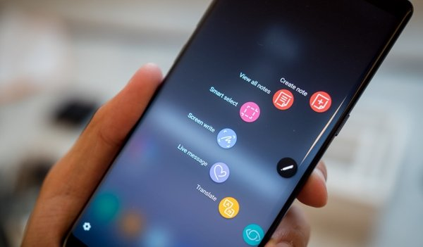Samsung Galaxy Note 8 hở sáng, vì sao?