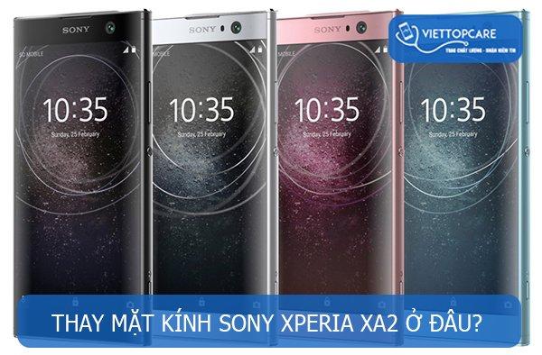 Thay mặt kính Sony Xperia XA2