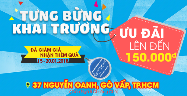 Vietopcare tưng bừng khai trương chi nhánh 6 tại 37 Nguyễn Oanh, quận Gò Vấp, thành phố Hồ Chí Minh