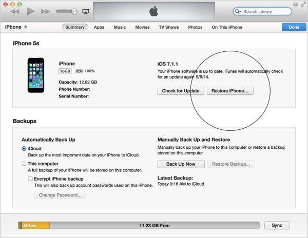 Cách khắc phục lỗi iPhone bị vô hiệu hóa đơn giản, dễ thực hiện 3
