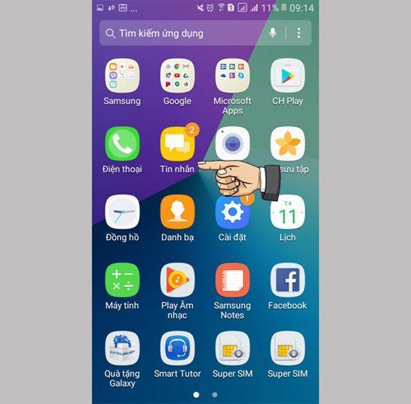 Cách xóa tin nhắn trên điện thoại Samsung Galaxy cực đơn giản2