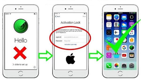 Hướng dẫn mở khóa icloud iPhone 6 trong một nốt nhạc 3