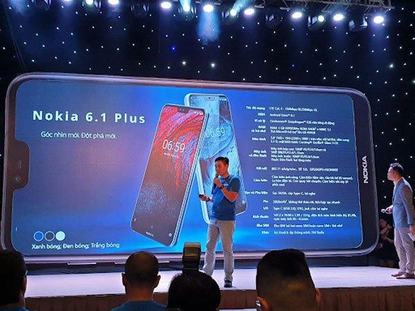 Nokia 6.1 Plus có gì khác biệt so với Nokia X6? 2