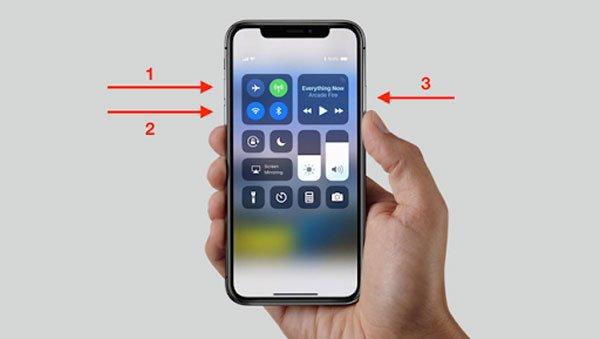 Làm thế nào khi iPhone X bị đơ màn hình? 3