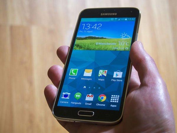 Cách chụp màn hình Samsung S5 chỉ trong 3 giây 1