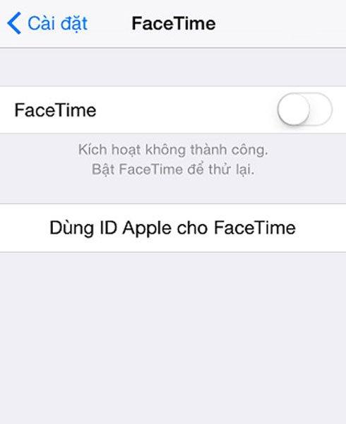 Hướng dẫn kích hoạt Facetime trên iPhone dễ dàng 2