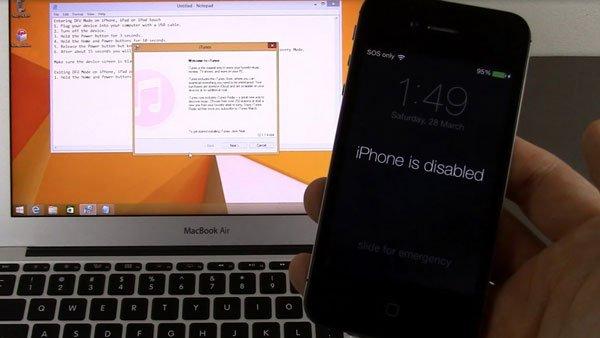 iPhone 8 Plus bị vô hiệu hóa: cứ bình tĩnh xử lý theo cách này 1