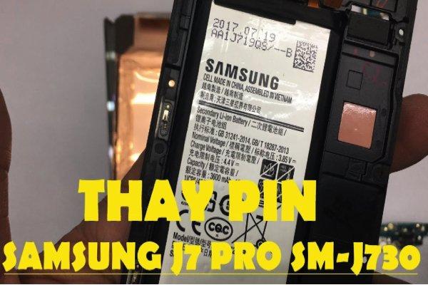 Dành cho những ai đang có ý định thay pin Samsung J7 Pro