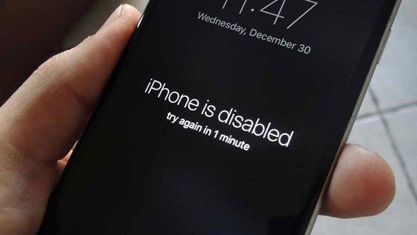 """Fix lỗi iPhone 7 Plus bị vô hiệu hóa cực nhanh với """"chiêu"""" này 1"""