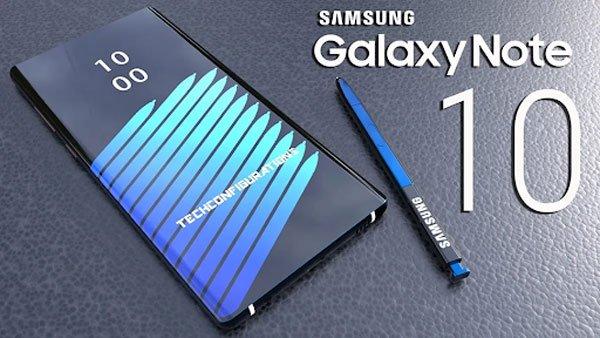 Một số thông tin về Samsung Galaxy Note 10 3