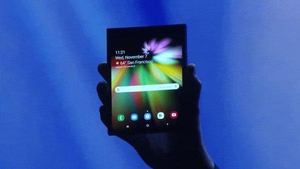 Samsung công bố video chính thức về điện thoại màn hình gập Galaxy X 1
