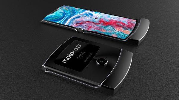 Chờ đợi điện thoại gập mới của Motorola: Motorola Razr 1