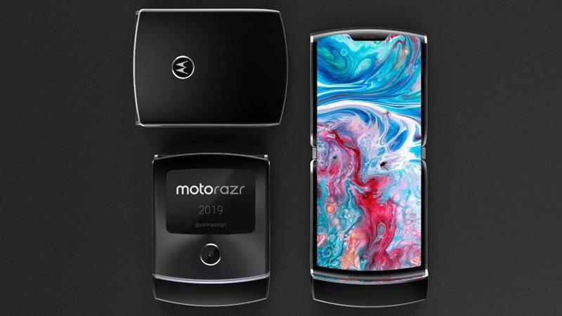 Chờ đợi điện thoại gập mới của Motorola: Motorola Razr 2