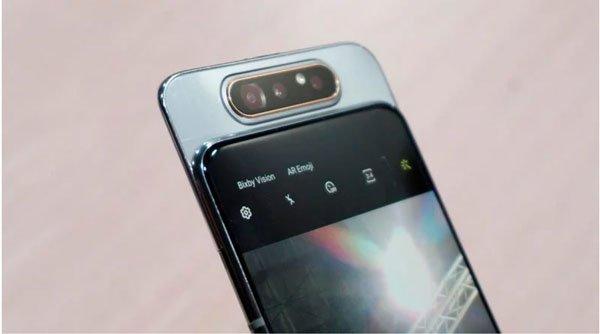 Samsung Galaxy A80 camera trượt xoay 180 độ 2
