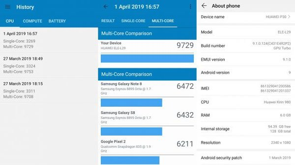 Đánh giá chi tiết Huawei P30 13