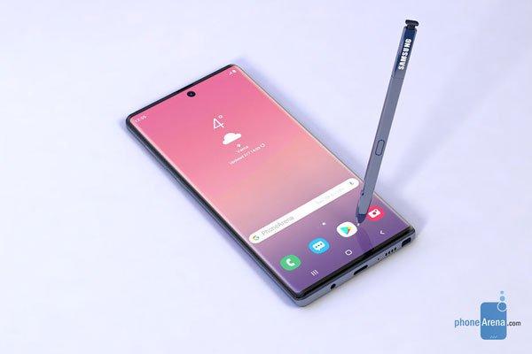 Những rò rỉ mới nhất của Galaxy Note 10 Pro