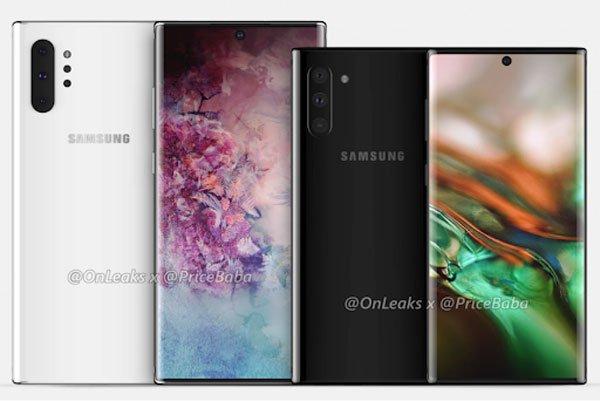 Phần cằm của Galaxy Note 10 vẫn sẽ dày hơn iPhone 1