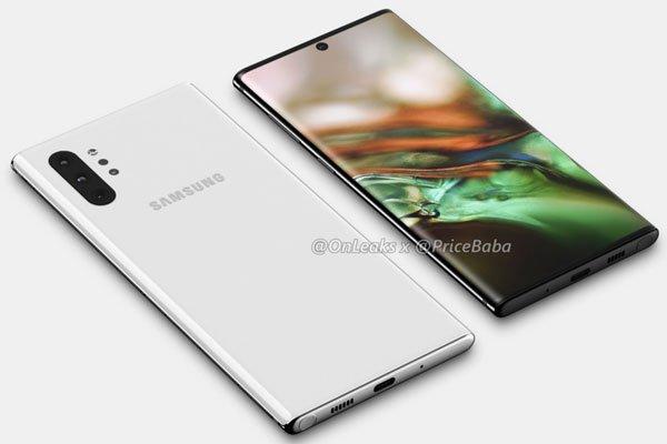 Phần cằm của Galaxy Note 10 vẫn sẽ dày hơn iPhone 3