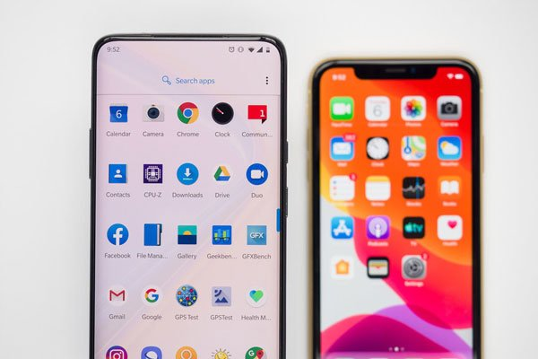 So sánh OnePlus 7 Pro vs Apple iPhone XR 13