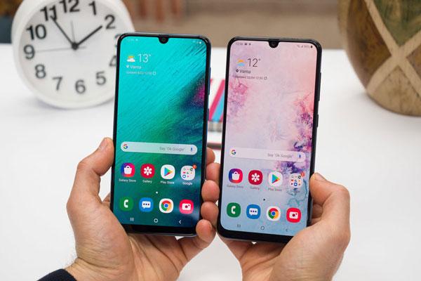 Đánh giá chi tiết Samsung Galaxy A30 và Galaxy A50 1