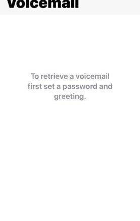 """Khắc phục hộp thư thoại iPhone trống với lỗi """"""""Password and Greeting"""" 1"""