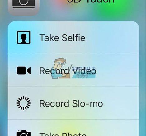 Sửa lỗi 3D Touch không hoạt động trên iPhone X 1