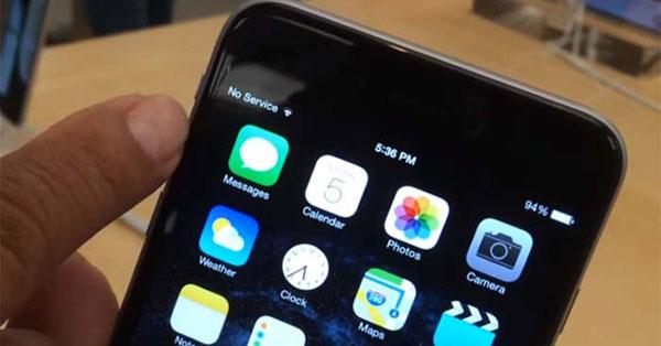 Cách sửa iPhone X khi hiển thị lỗi No Service