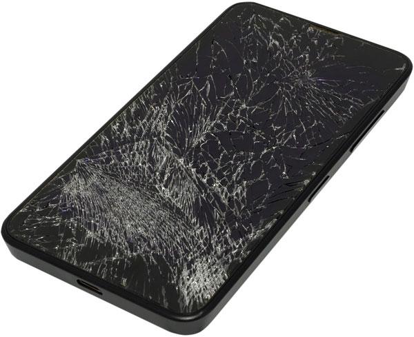 Màn hình điện thoại thông minh càng mỏng càng dễ bị vỡ