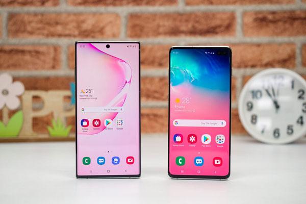 So găng Samsung Galaxy Note 10+ vs Galaxy S10+ hơn nhau điểm nào? 1