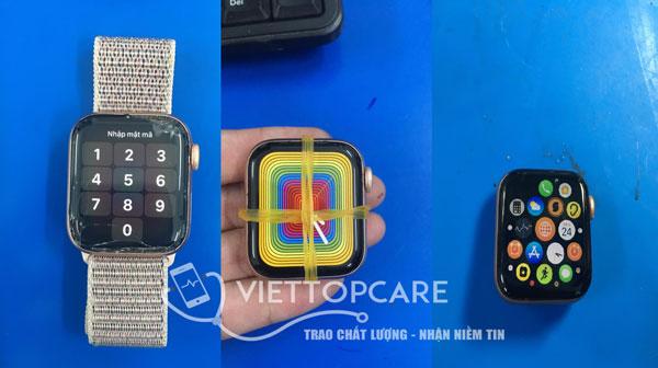 Apple watch seri 4 40mm thay kính